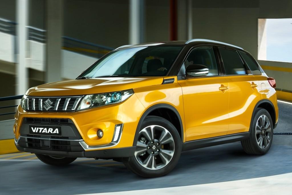 De nieuwe Suzuki Vitara in Solar Yellow