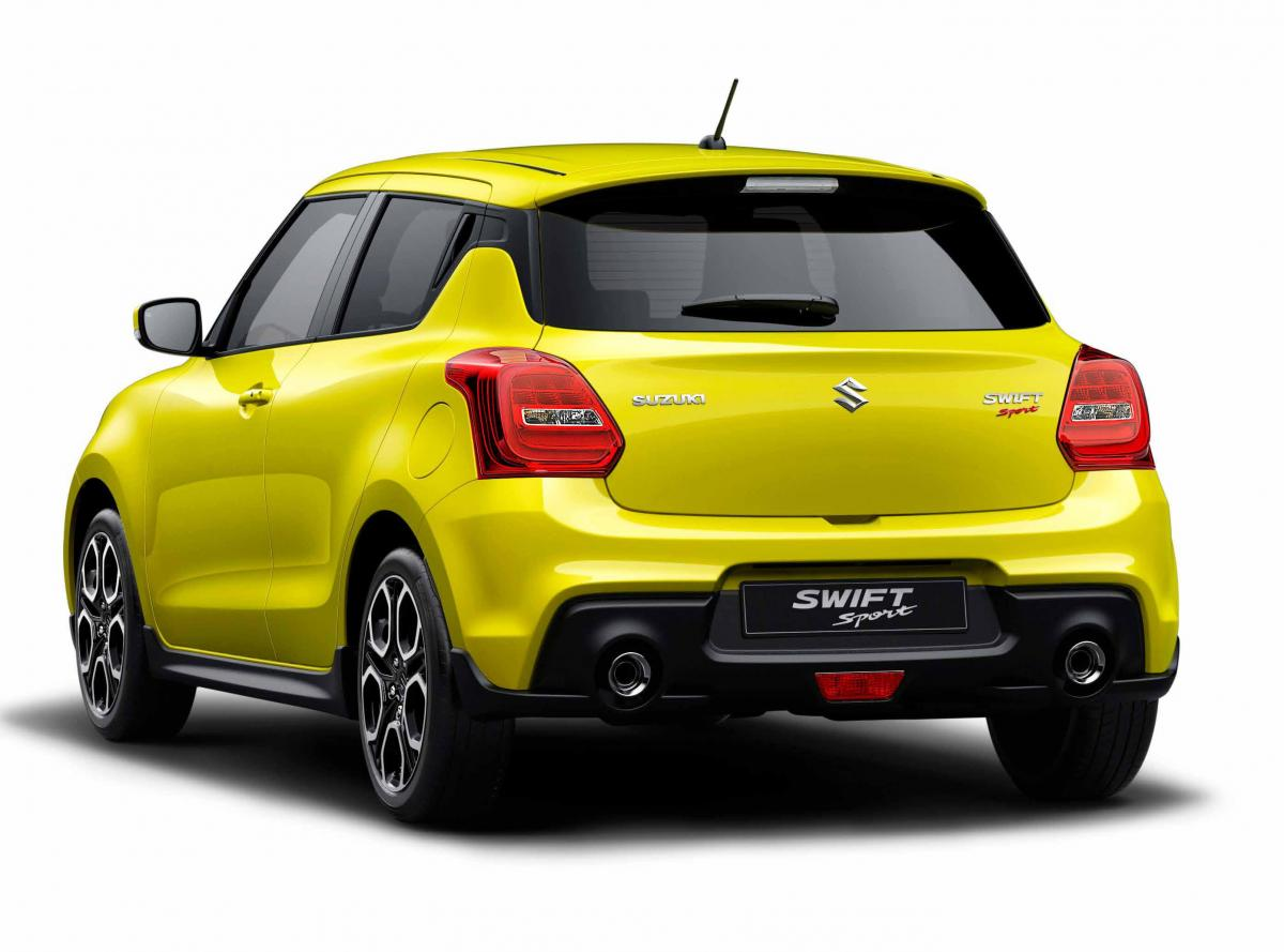 Suzuki Swift Sport bij Garage Bossaert